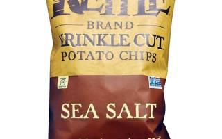 Отзыв о Рифленые чипсы с солью Штурвал