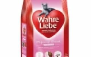 Отзыв о Wahre Liebe SensibleKatze (для привередливых и аллергичных кошек)
