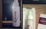 Отзыв о Alerana спрей для волос