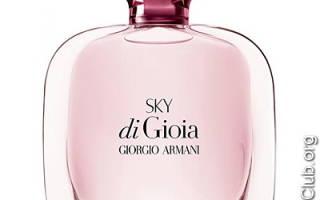 Отзыв о Парфюмерная вода SKY DI GIOIA EAU DE PARFUM от Giorgio Armani