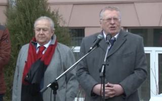 Отзыв о Памятник Жириновскому открыли в Москве
