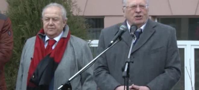 Памятник Жириновскому открыли в Москве отзывы