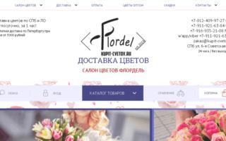 Отзыв о Доставка цветов Cvetoland.ru