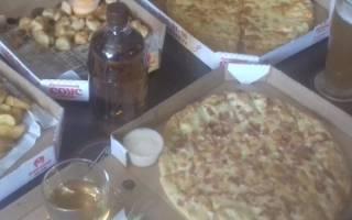 Отзыв о Доставка пиццы Кинг Конг