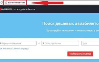 Отзыв о 100avia.ru
