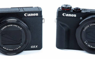 Отзыв о Canon PowerShot G5X Mark II
